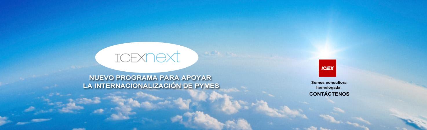 Nuevo Programa ICEXnext para la internacionalización